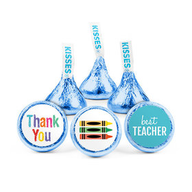 Bonnie Marcus Teacher Appreciation Colorful Thank You Hershey's Kisses (50 pack)