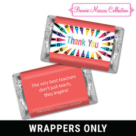 Bonnie Marcus Collection Teacher Appreciation Colorful Thank You Mini Wrappers
