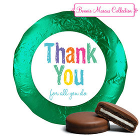 Bonnie Marcus Collection Colorful Thank You Chocolate Covered Oreo Cookies (24 Pack)