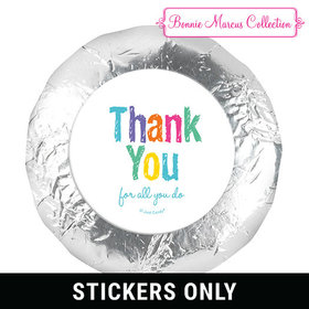 "Bonnie Marcus Collection Colorful Thank You 1.25"" Stickers (48 Stickers)"