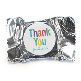 Bonnie Marcus Collection Teacher Appreciation Colorful Thank You Peppermint Patties