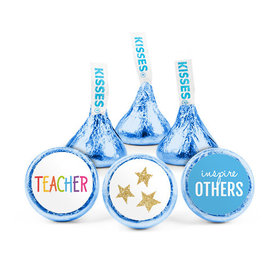 Bonnie Marcus Teacher Appreciation Gold Star Hershey's Kisses (50 pack)