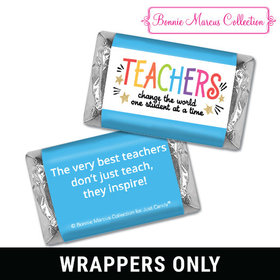 Bonnie Marcus Collection Teacher Appreciation Gold Star Mini Wrappers