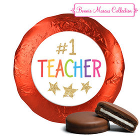 Bonnie Marcus Collection Gold Star Chocolate Covered Oreo Cookies