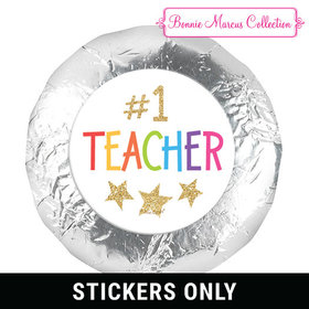 "Bonnie Marcus Collection Gold Star 1.25"" Stickers (48 Stickers)"