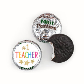 Bonnie Marcus Collection Teacher Appreciation Gold Star Pearson's Mint Patties