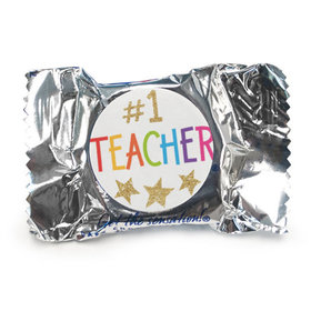 Bonnie Marcus Collection Teacher Appreciation Gold Star Peppermint Patties
