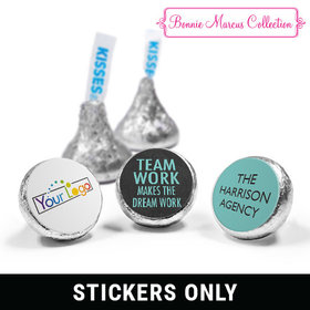 "Personalized Bonnie Marcus Collection Teamwork Word Cloud 3/4"" Sticker (108 Stickers)"