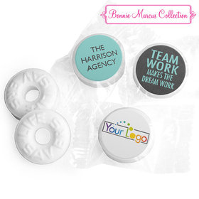 Personalized Bonnie Marcus Collection Teamwork Word Cloud Assembled Life Savers Mints