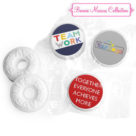 Personalized Bonnie Marcus Collection Teamwork Acrostic Assembled Life Savers Mints