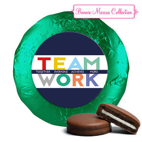 Personalized Bonnie Marcus Collection Teamwork Acrostic Assembled Belgian Chocolate Covered Oreos (24 Pack)