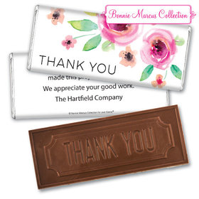 Personalized Bonnie Marcus Bouquet Thank You Embossed Chocolate Bar