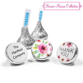 Personalized Bonnie Marcus Bouquet Thank You Hershey's Kisses (50 Pack)