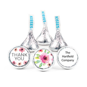 """Personalized Bonnie Marcus Bouquet Thank You 3/4"""" Stickers (108 Stickers)"""
