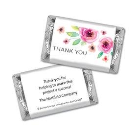 Personalized Bonnie Marcus Bouquet Thank You Mini Wrappers Only