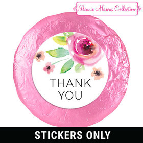 "Personalized Bonnie Marcus Bouquet Thank You 1.25"" Stickers (48 Stickers)"