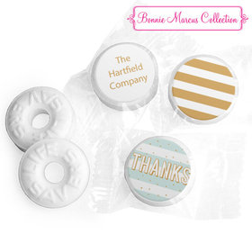 Personalized Bonnie Marcus Stripes and Dots Thank You Life Savers Mints