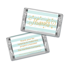 Personalized Bonnie Marcus Stars and Stripes Thank You Mini Wrappers Only