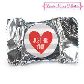 Bonnie Marcus Collection Valentine's Day Stripes York Peppermint Patties