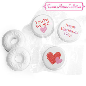 Personalized Valentine's Day Red and Pink Hearts LIFE SAVERS Mints