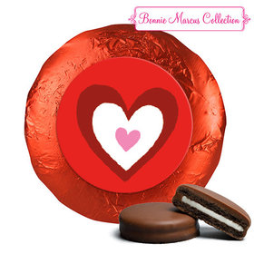 Bonnie Marcus Collection Valentine's Day Inner Heart Chocolate Covered Oreos