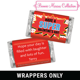 Bonnie Marcus Personalized Valentine's Day Comic Mini Wrappers