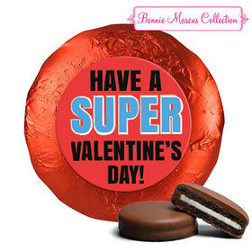 Bonnie Marcus Collection Valentine's Day Superhero Chocolate Covered Oreos (24 Pack)