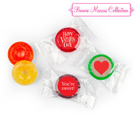 Personalized Valentine's Day Cute Hearts LifeSavers 5 Flavor Hard Candy (300 Pack)