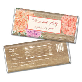 Bonnie Marcus Collection Personalized Chocolate Bar Personalized Candy Wedding Favors Beautiful Love