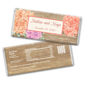 Beautiful Love Personalized Candy Bar - Wrapper Only