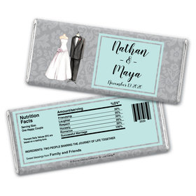 Forever Together Personalized Candy Bar - Wrapper Only