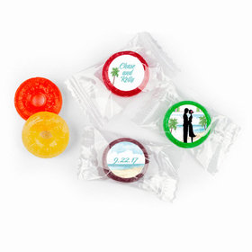 Tropical I Do Personalized Wedding LIFE SAVERS 5 Flavor Hard Candy Assembled