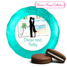 Bonnie Marcus Collection Wedding Wedding Reception Favors Milk Chocolate Covered Oreo Cookies (24 Pack)