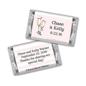 The Bubbly Custom Wedding Personalized Miniature Wrappers