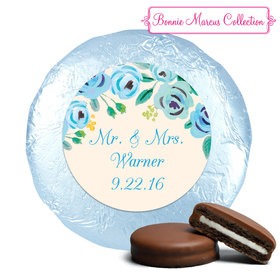 Bonnie Marcus Collection Wedding Favors Here's Something Blue Milk Chocolate Covered Oreo (24 Pack)