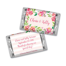 In the Pink Wedding Personalized Miniature Wrappers