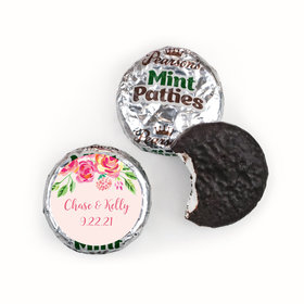 Bonnie Marcus Collection In the Pink Wedding Favors Pearson's Mint Patties