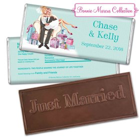 Personalized Bonnie Marcus Embossed Chocolate Bar