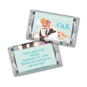 Love Me Tender Wedding Personalized Miniature Wrappers