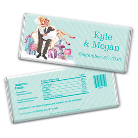 Love Me Tender Wedding Personalized Candy Bar - Wrapper Only
