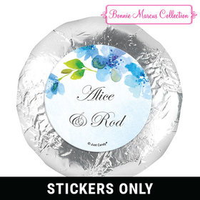 "Personalized Bonnie Marcus 1.25"" Stickers - Wedding Flower Arch (48 Stickers)"