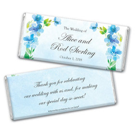Personalized Bonnie Marcus Chocolate Bar & Wrapper - Wedding Flower Arch