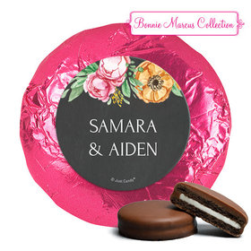 Personalized Bonnie Marcus Milk Chocolate Covered Oreos - Wedding Flowers in Chalk