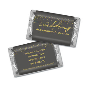Personalized Bonnie Marcus Mini Wrappers Only - Wedding Divine Gold