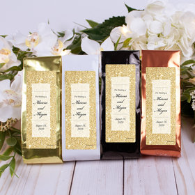 Personalized Wedding Columbian Coffee - All that Glitters