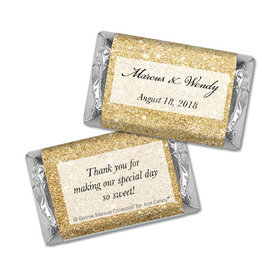 Personalized Bonnie Marcus Hershey's Miniatures - Wedding All That Glitters