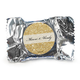 Personalized Bonnie Marcus York Peppermint Patties - Wedding All That Glitters