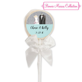 Bonnie Marcus Collection Personalized Lollipop Together Forever Custom Wedding Favor (24 Pack)