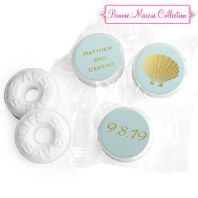 Personalized Bonnie Marcus Life Savers Mints - Wedding Siren's Shell