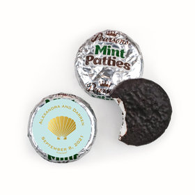 Personalized Bonnie Marcus Pearson's Mint Patties - Wedding Siren's Shell